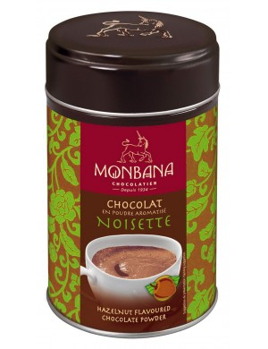Chocolat en poudre aromatisé noisette - 250 gr
