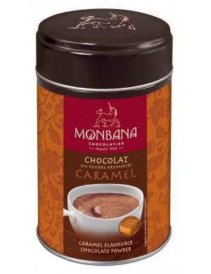 Chocolat en poudre aromatisé caramel - 250 gr