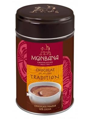 Chocolat en poudre 'Tradition' 33% de cacao - 250 gr