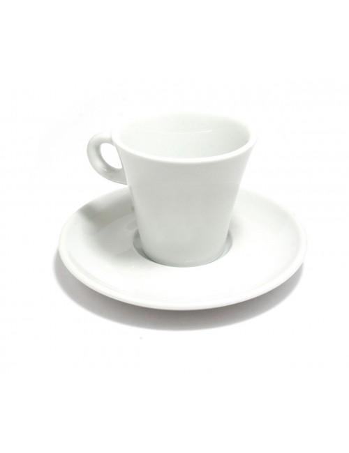 6 paires de tasses à café Tulipe