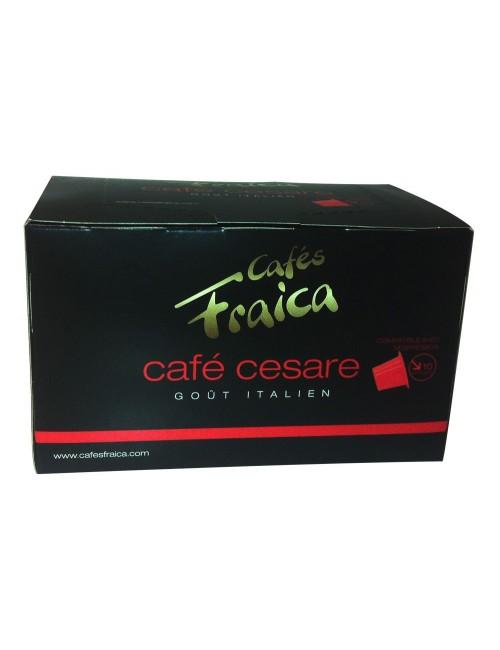 Capsules compatibles Nespresso® par 10 Café Cesare - 55 gr