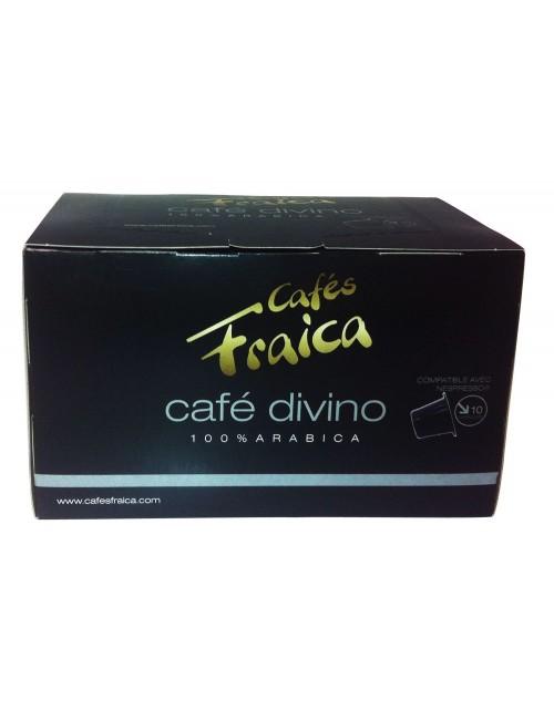 Capsules compatibles Nespresso® par 10 Café Divino - 55 gr