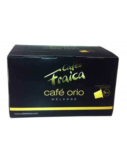 Capsules compatibles Nespresso® par 10 Café Orio - 55 gr