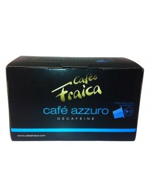 Capsules compatibles Nespresso® par 10 Décaféiné Azzuro - 55 gr