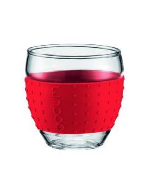 Verres Pavina Bodum 0,1 L - Rouge - 11165-294