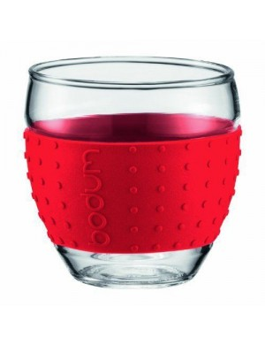 Verres Pavina Bodum 0,35 L- Rouge - 11185-294