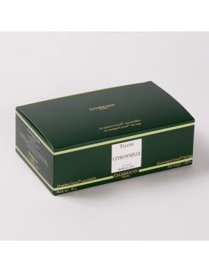 Infusion Cristal Dammann boîte de 24 sachets suremballés Citronnelle