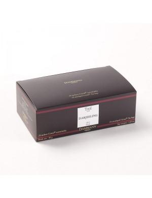 Thé cristal Dammann boîte de 24 sachets suremballés Darjeeling