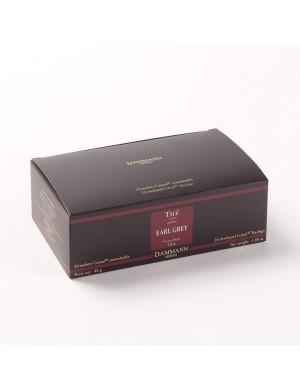 Thé cristal Dammann boîte de 24 sachets suremballés Earl Grey