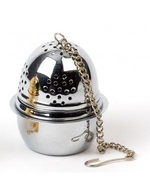 boule à thé avec suppport inox