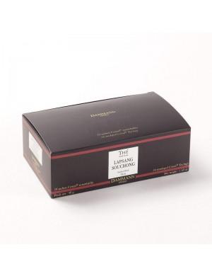 Thé cristal Dammann boîte de 24 sachets suremballés Lapsang Souchong