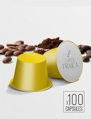 Capsules compatibles Nespresso® par 100 Moka Yrgacheffe - 1.12 kg