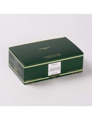 Infusion Cristal Dammann boîte de 24 sachets suremballés Tilleul