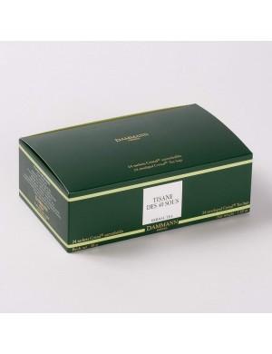 Infusion Cristal Dammann boîte de 24 sachets suremballés Tisane des 40 sous