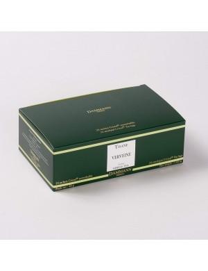 Infusion Cristal Dammann boîte de 24 sachets suremballés Verveine